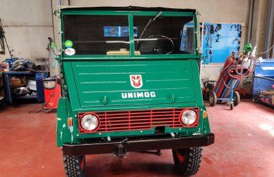Unimog U411 face