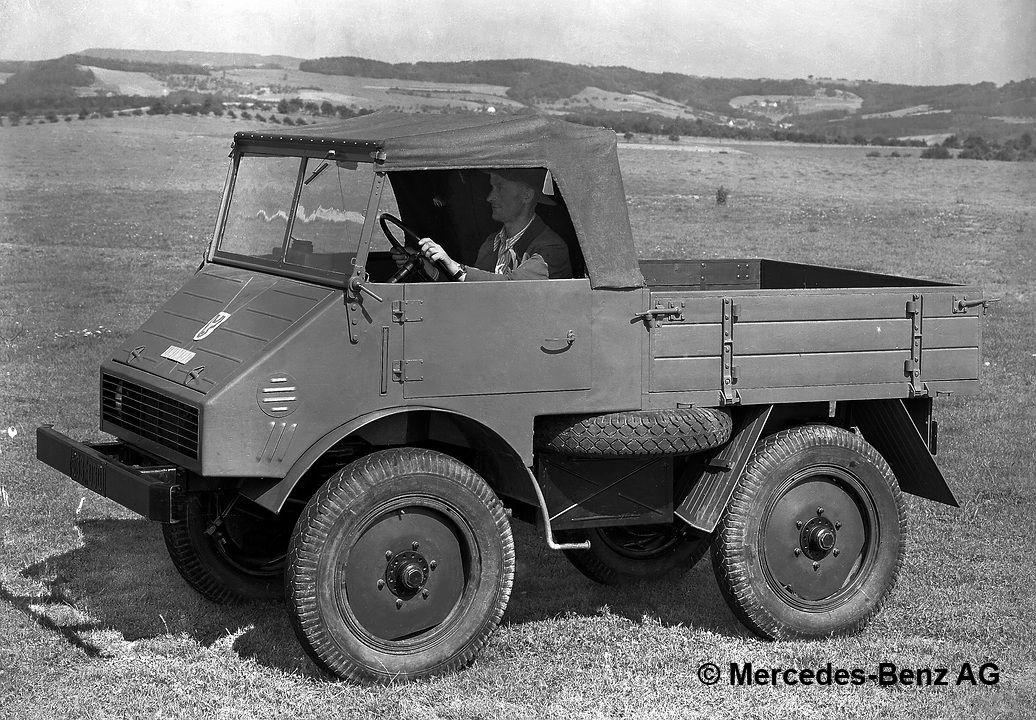 Boehringer Unimog 25-hp model series 70200