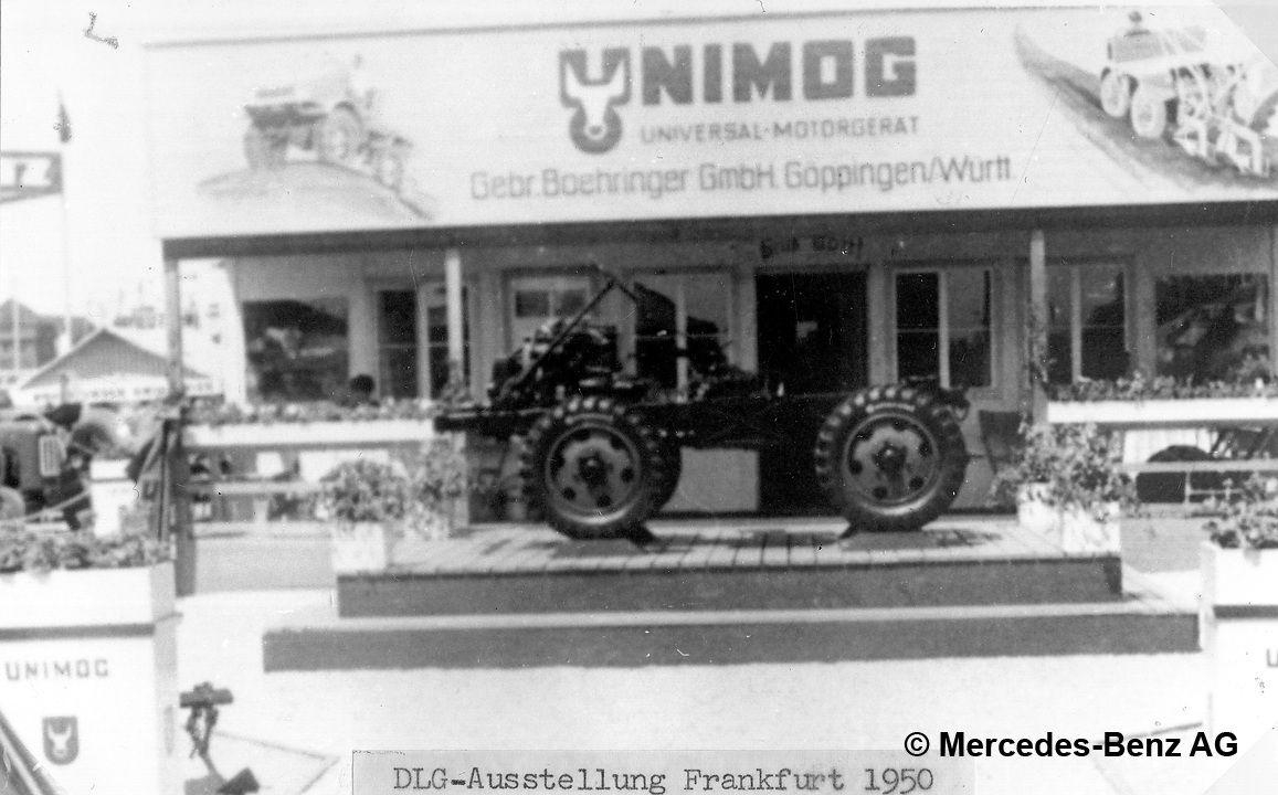 boehringer unimog u25 1950