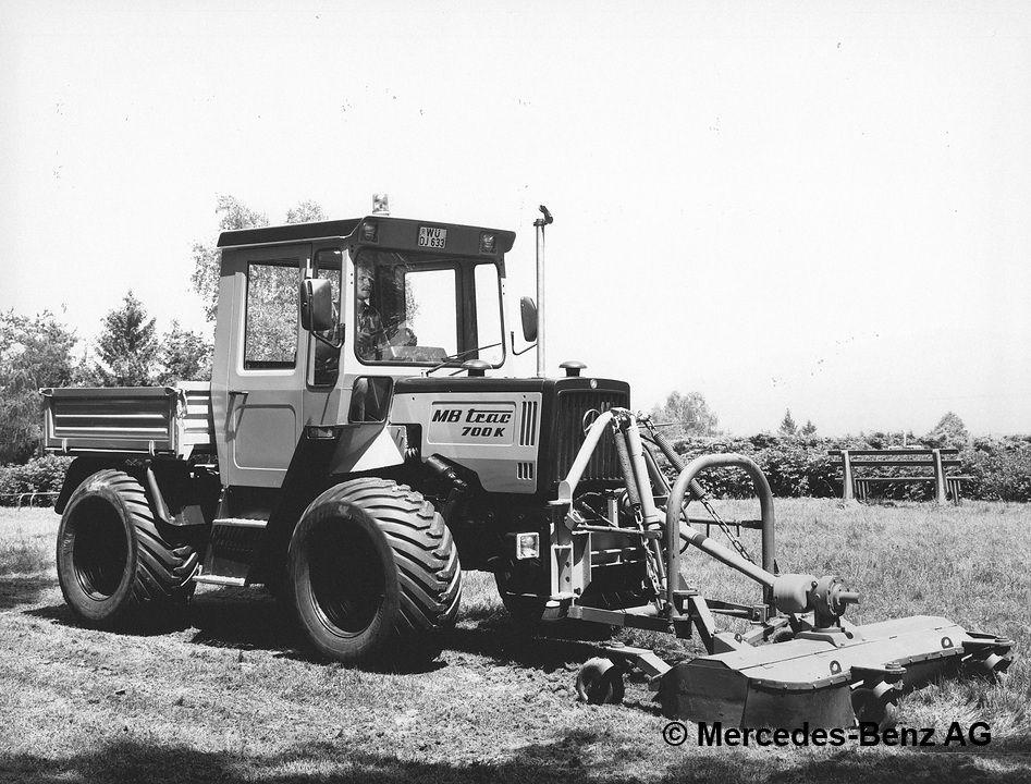 MB-trac 700