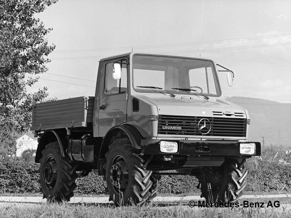 unimog u120, model series 425