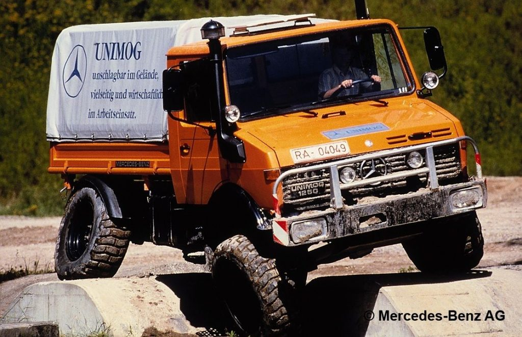 unimog u1250, model series 424