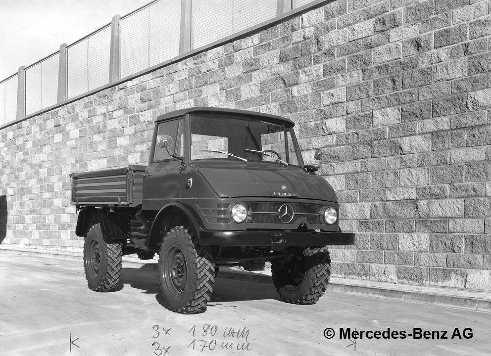 unimog u65, model series 406 cabine fermee