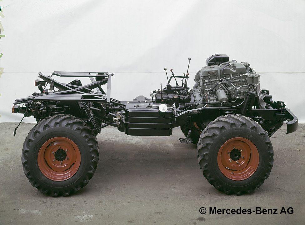 chassis unimog 406