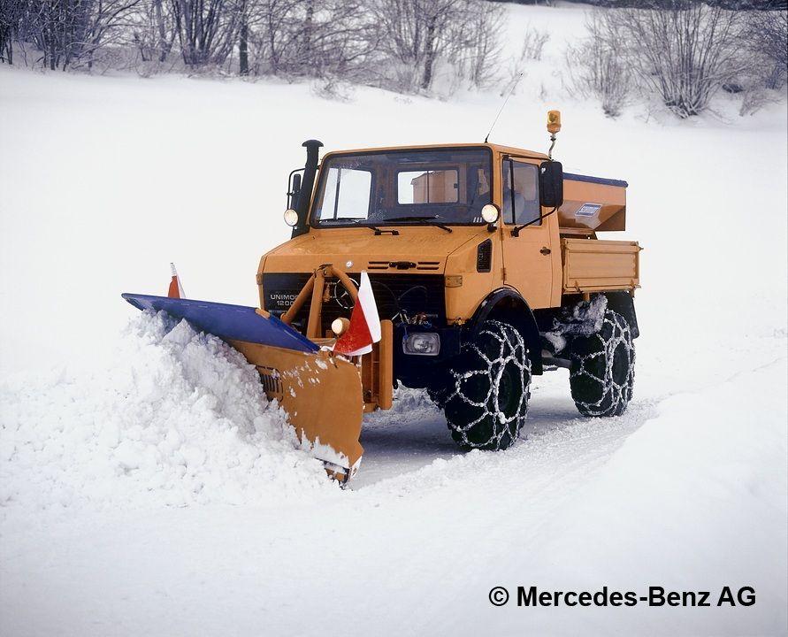 unimog u1200 series424 chasse neige