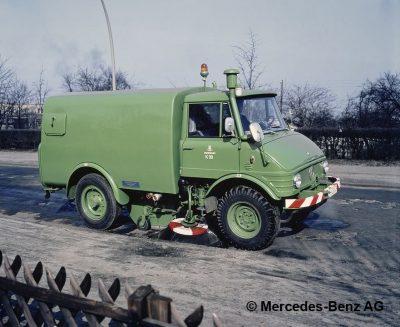 Unimog U600L
