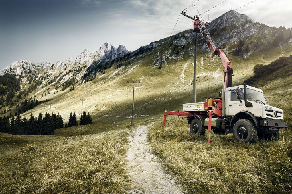 unimog maintenance regions montagneuses